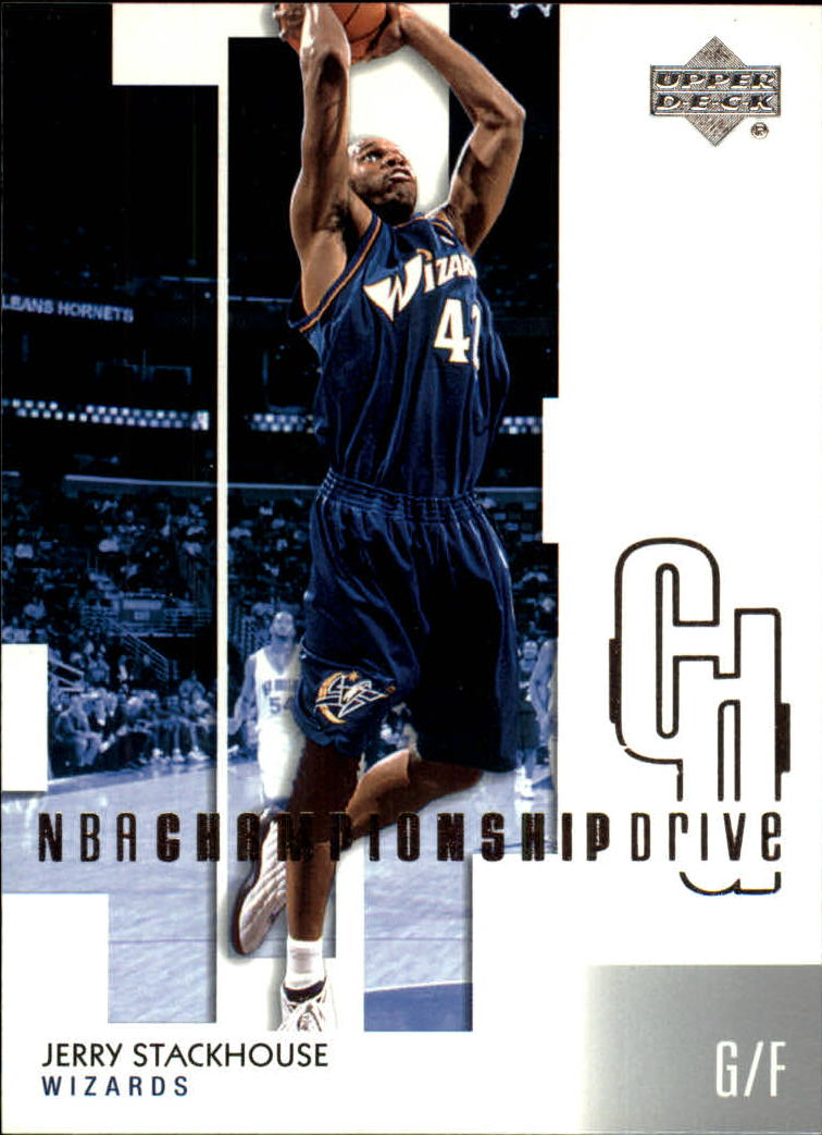2002-03 Upper Deck Championship Drive #98 Jerry Stackhouse