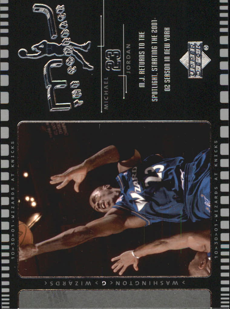 2002-03 Upper Deck MJ The Comeback #J1 Michael Jordan