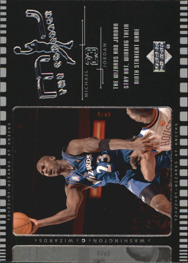 2002-03 Upper Deck MJ The Comeback #J2 Michael Jordan