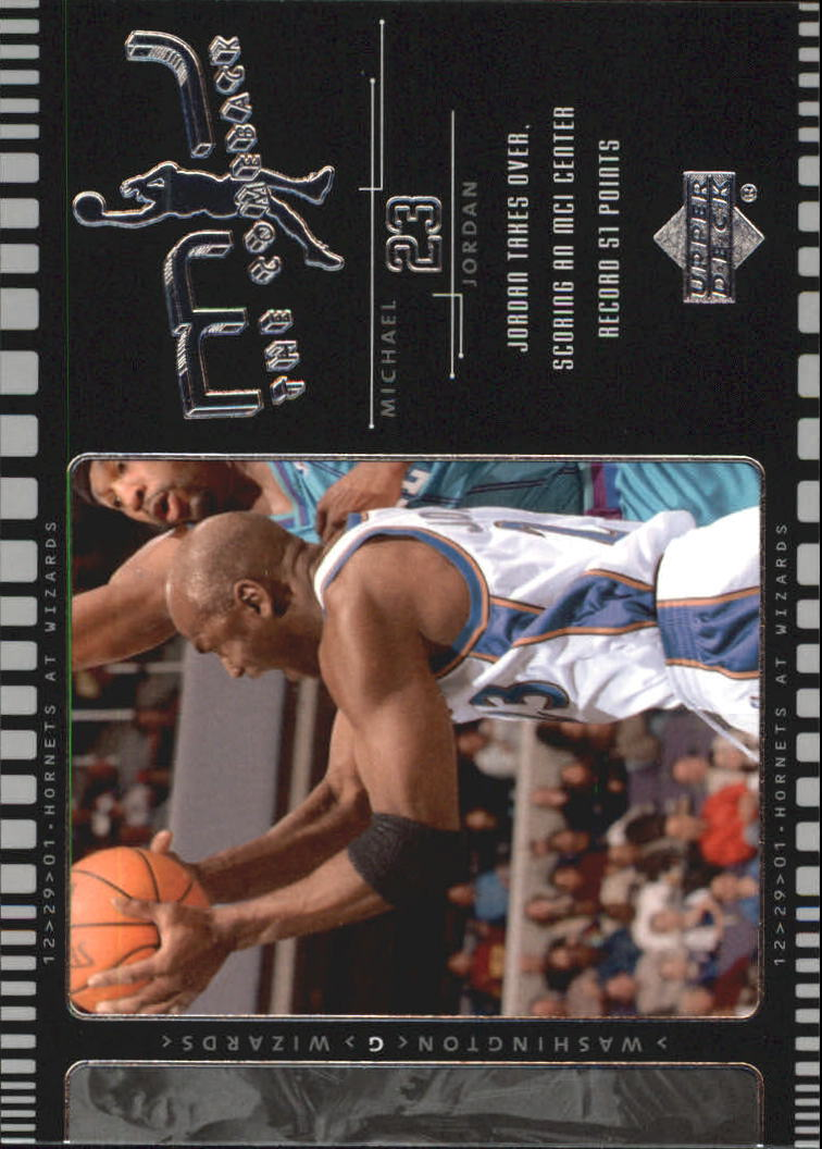 2002-03 Upper Deck MJ The Comeback #J3 Michael Jordan
