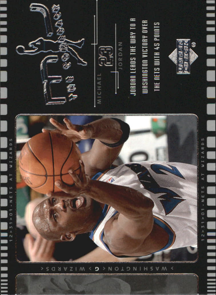 2002-03 Upper Deck MJ The Comeback #J4 Michael Jordan