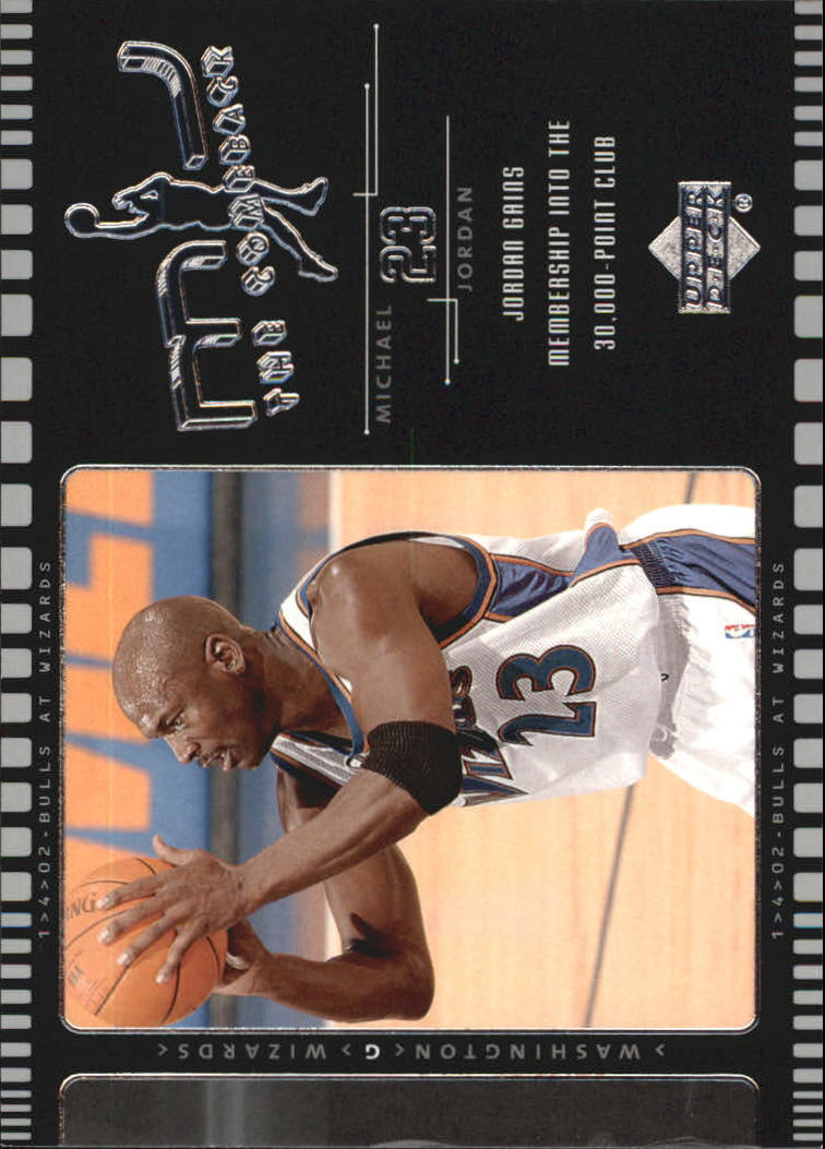 2002-03 Upper Deck MJ The Comeback #J5 Michael Jordan