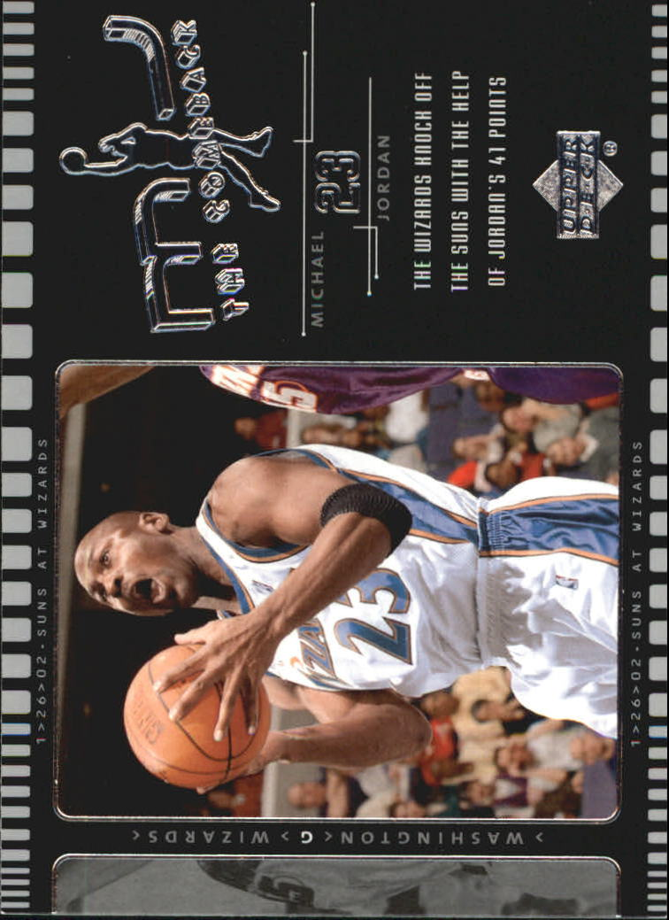 2002-03 Upper Deck MJ The Comeback #J7 Michael Jordan