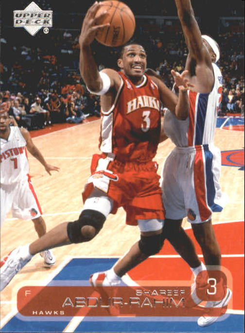 2002-03 Upper Deck #1 Shareef Abdur-Rahim
