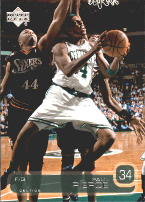 2002-03 Upper Deck #7 Paul Pierce