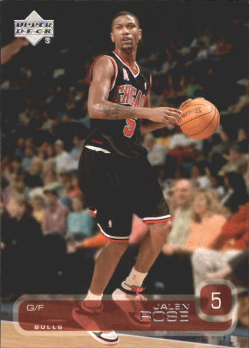 2002-03 Upper Deck #13 Jalen Rose