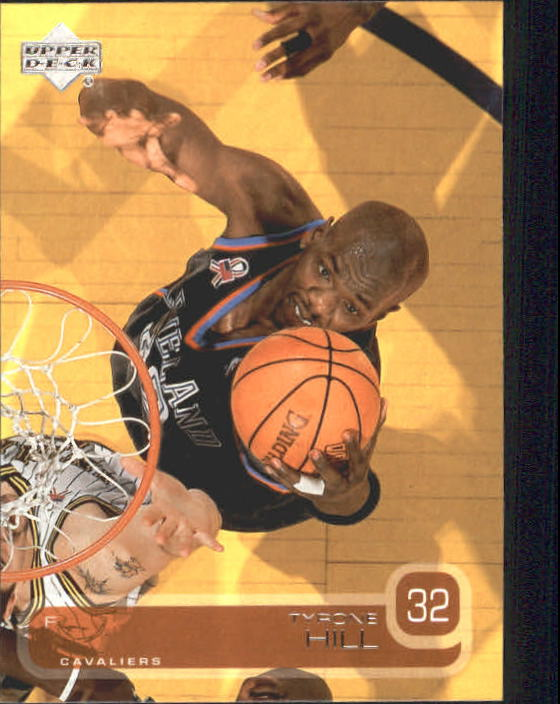 2002-03 Upper Deck #20 Tyrone Hill
