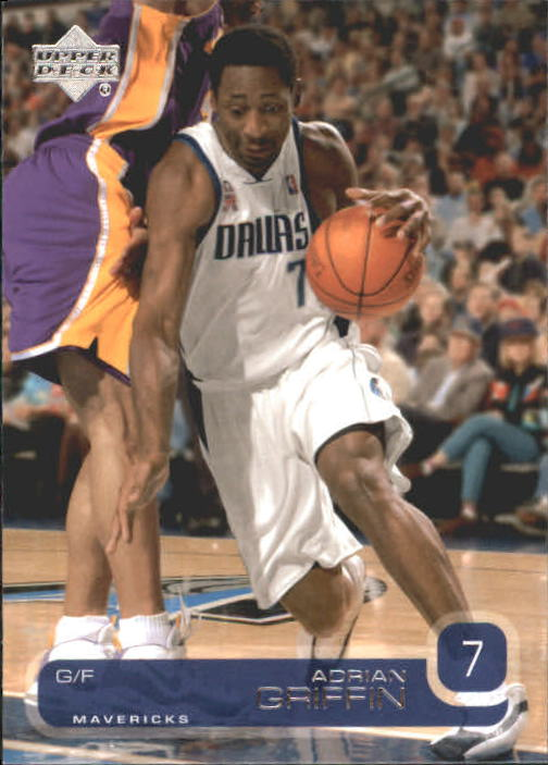 2002-03 Upper Deck #30 Adrian Griffin