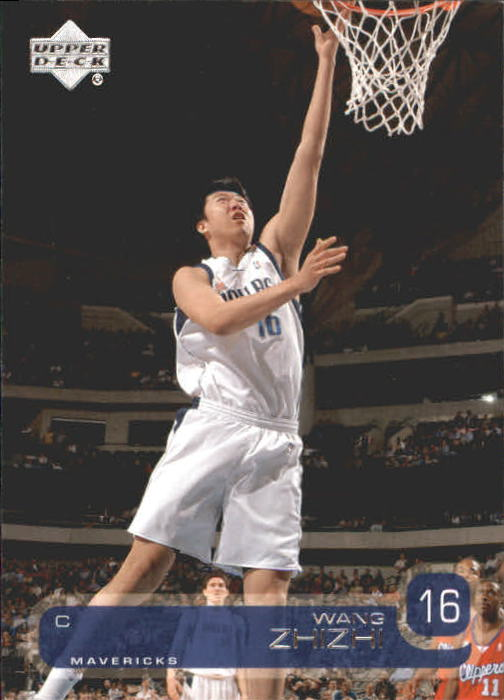 2002-03 Upper Deck #31 Wang Zhizhi