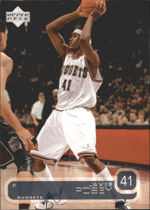2002-03 Upper Deck #34 James Posey