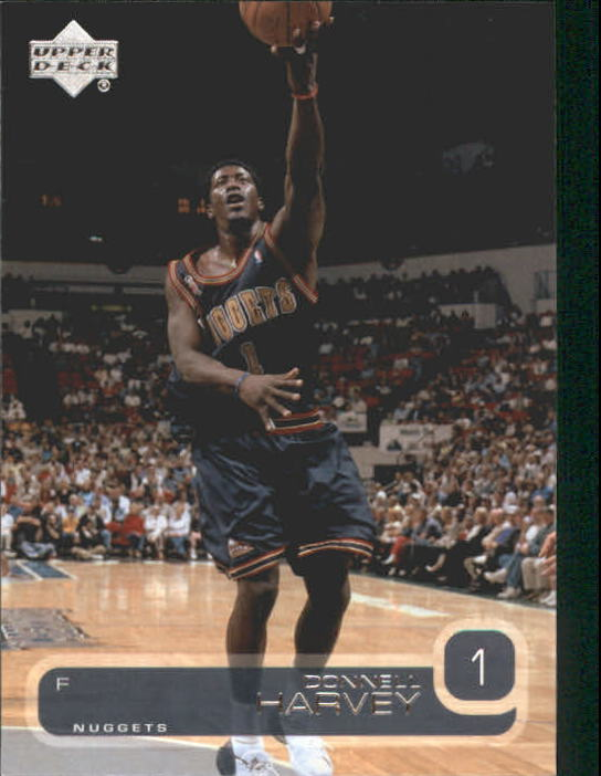 2002-03 Upper Deck #35 Donnell Harvey