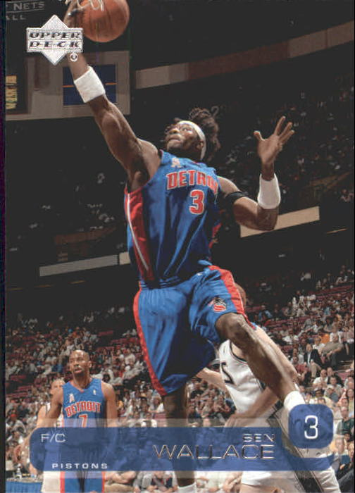 2002-03 Upper Deck #38 Ben Wallace