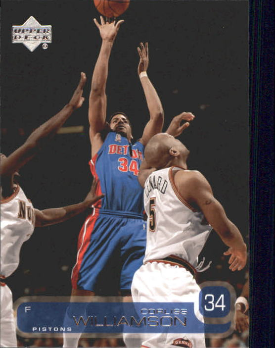 2002-03 Upper Deck #40 Corliss Williamson