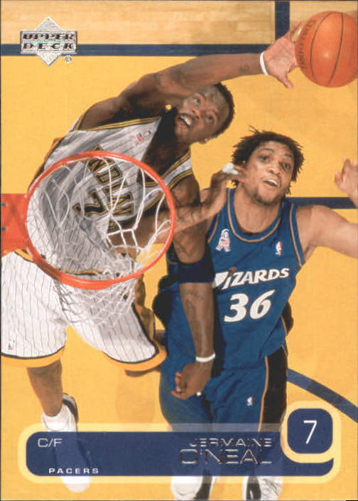 2002-03 Upper Deck #55 Jermaine O'Neal