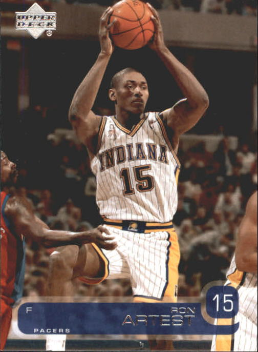 2002-03 Upper Deck #58 Ron Artest
