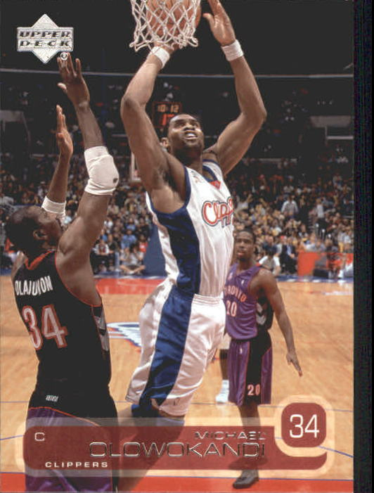 2002-03 Upper Deck #63 Michael Olowokandi