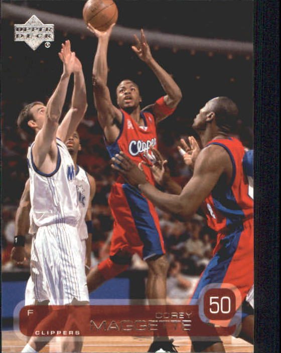 2002-03 Upper Deck #65 Corey Maggette