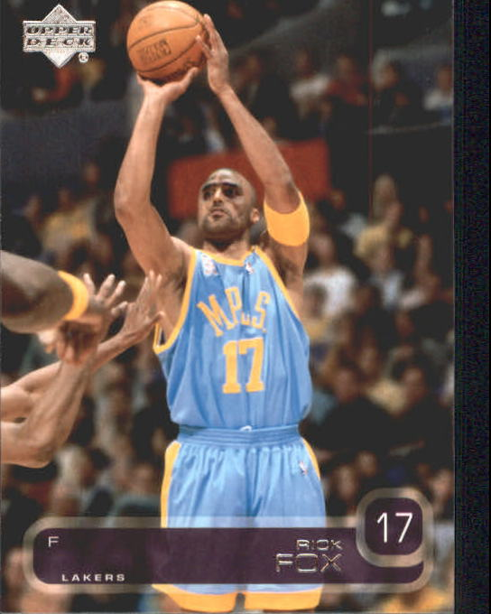 2002-03 Upper Deck #68 Rick Fox