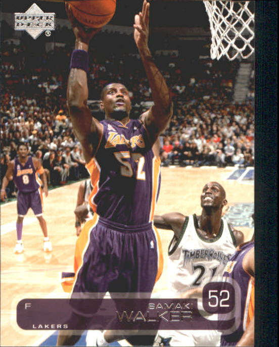 2002-03 Upper Deck #71 Samaki Walker