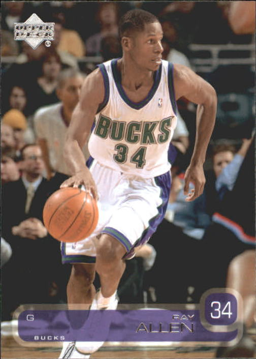 2002-03 Upper Deck #84 Ray Allen
