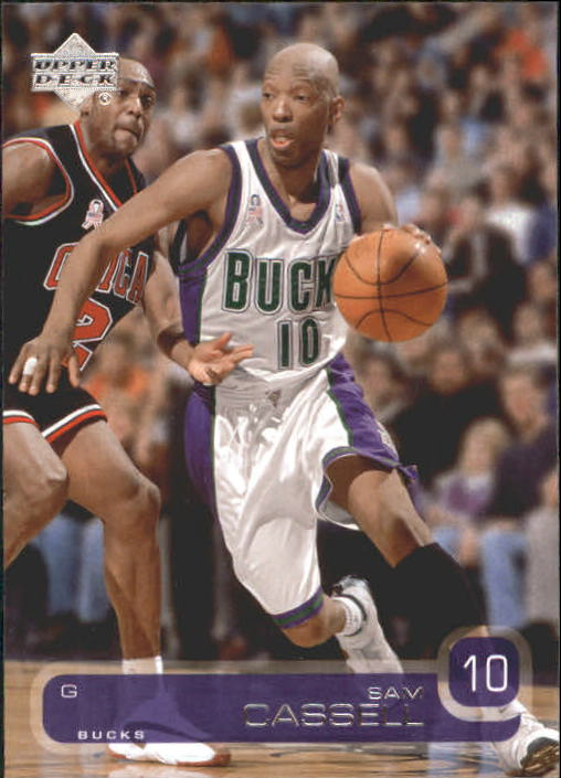 2002-03 Upper Deck #85 Sam Cassell