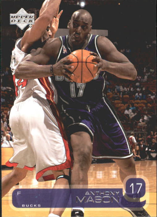 2002-03 Upper Deck #89 Anthony Mason