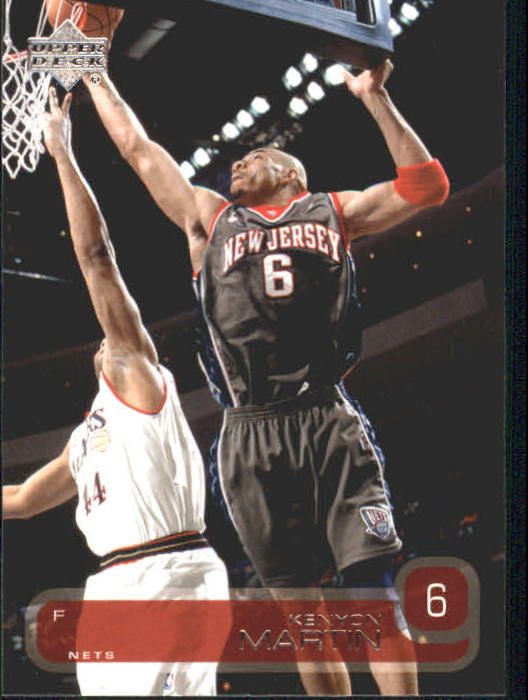 2002-03 Upper Deck #99 Kenyon Martin