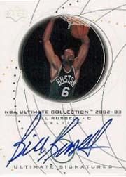 2002-03 Ultimate Collection Signatures #BRS Bill Russell