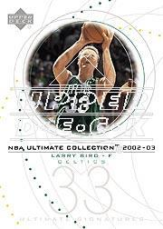 2002-03 Ultimate Collection Signatures #LBS Larry Bird