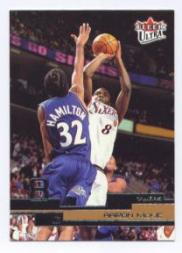 2002-03 Ultra #16 Aaron McKie