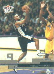 2002-03 Ultra #24 Tony Parker