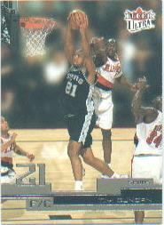 2002-03 Ultra #88 Tim Duncan