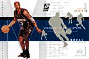 2002-03 UD Glass Magnifying Glass #SMM Stephon Marbury