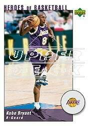 2002-03 UD Authentics Kobe Bryant Heroes of Basketball #KB3 Kobe Bryant