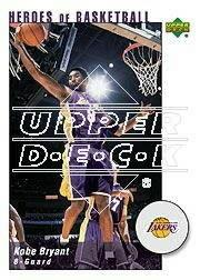 2002-03 UD Authentics Kobe Bryant Heroes of Basketball #KB7 Kobe Bryant