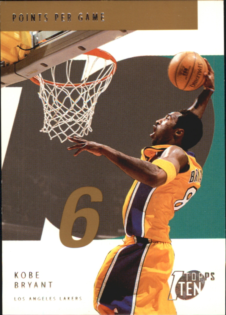2002-03 Topps Ten Parallel #6 Kobe Bryant