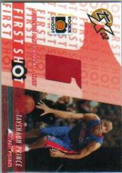 2002-03 Topps Xpectations First Shot Relics #FSTP Tayshaun Prince