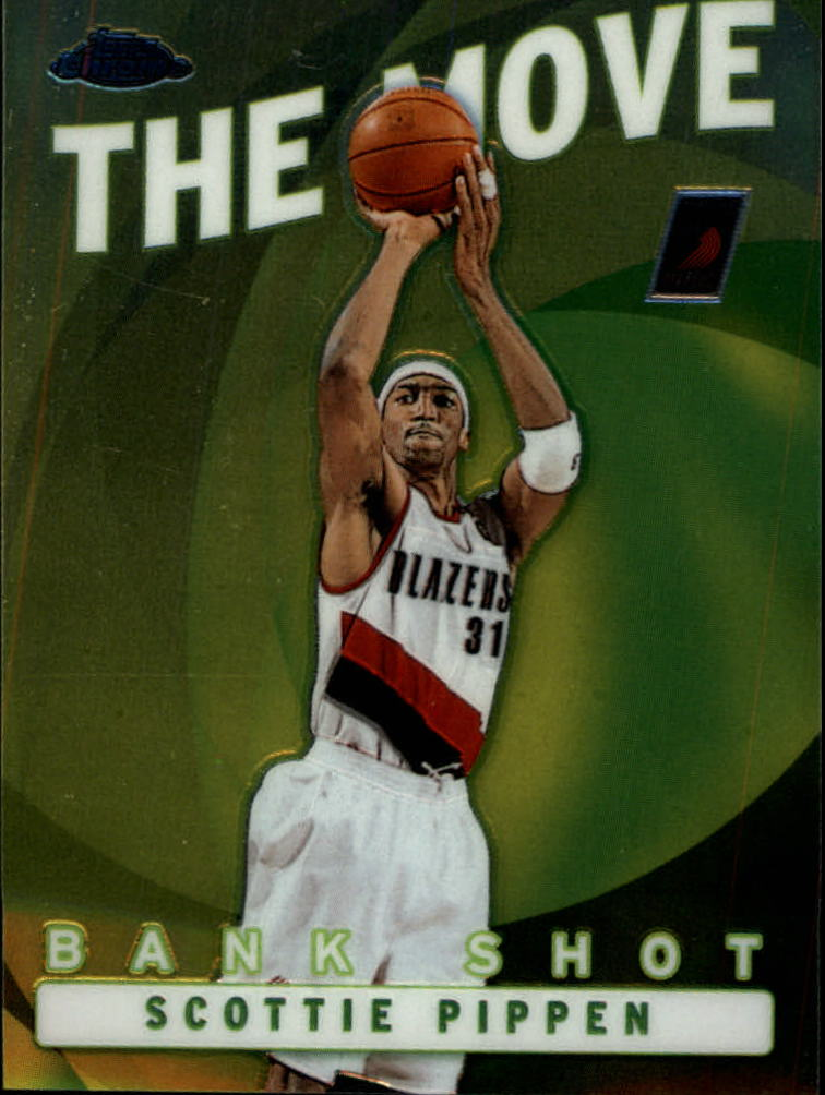 2002-03 Topps Chrome The Move #TM12 Scottie Pippen