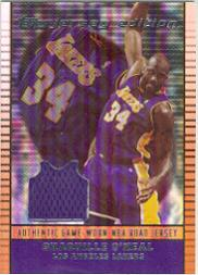 2002-03 Topps Jersey Edition #JESO Shaquille O'Neal R