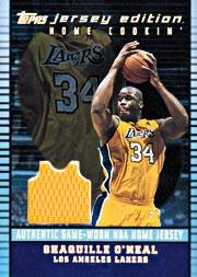 2002-03 Topps Jersey Edition #JESON Shaquille O'Neal H