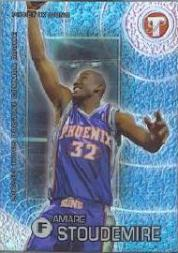 2002-03 Topps Pristine Refractors #75 Amare Stoudemire C