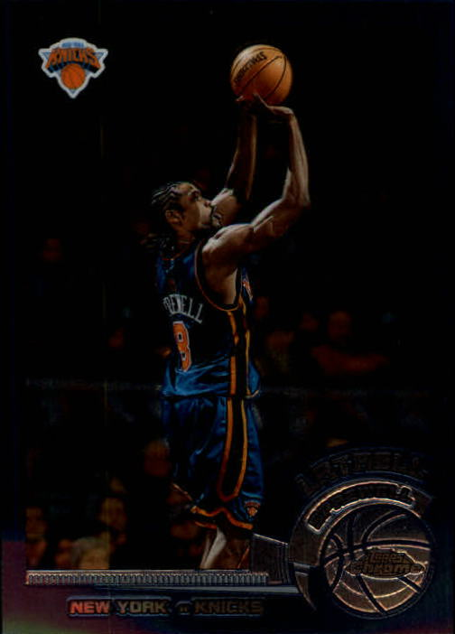 2002-03 Topps Chrome #107 Latrell Sprewell