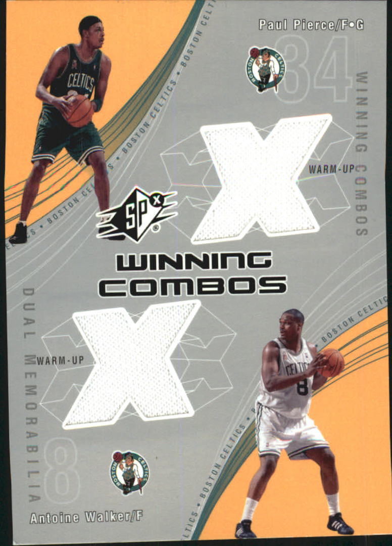 2002-03 SPx Winning Combos #PPAW Paul Pierce/Antoine Walker