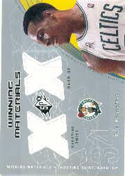 2002-03 SPx Winning Materials #PPW Paul Pierce Shirt/WU