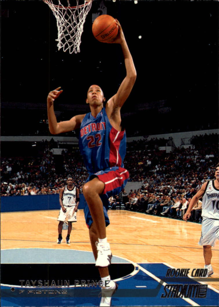 2002-03 Stadium Club #123 Tayshaun Prince RC