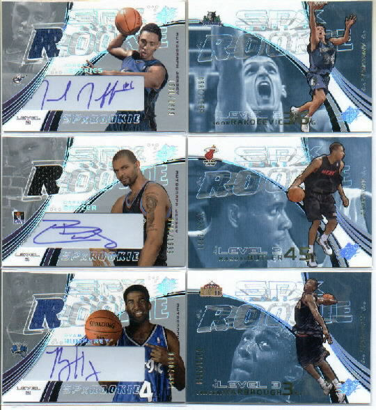 2002-03 SPx #123 Jared Jeffries JSY AU RC