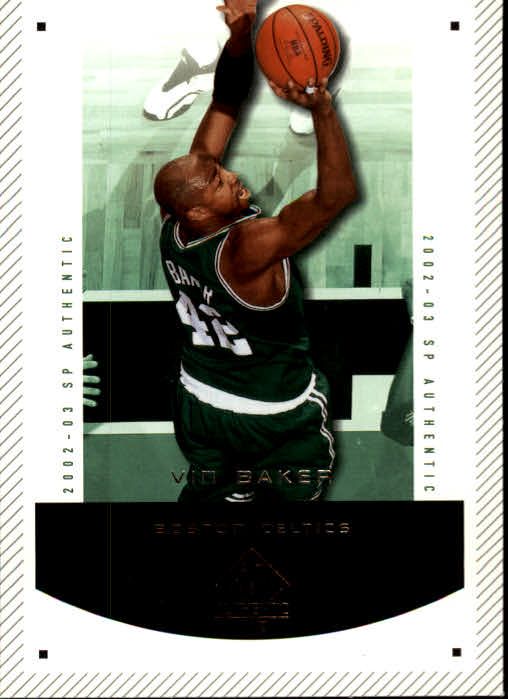 2002-03 SP Authentic #8 Vin Baker