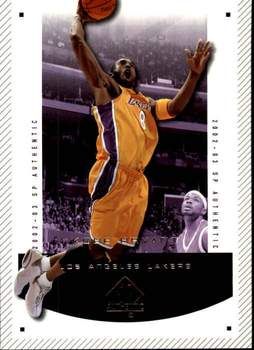 2002-03 SP Authentic #37 Kobe Bryant front image