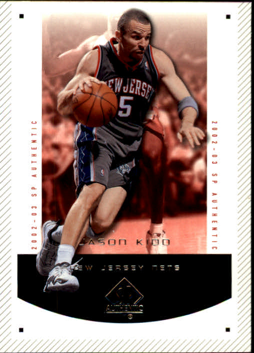 2002-03 SP Authentic #52 Jason Kidd