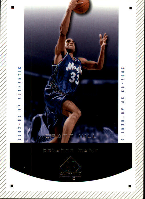 2002-03 SP Authentic #66 Grant Hill